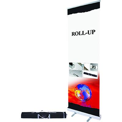 Roll-up aluminiu 1x2m